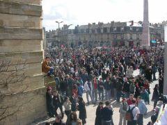 Manifestation contre le CPE à Bordeaux (source : commons)