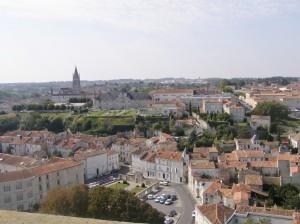 Panorama sur Saintes