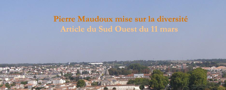 Sud Ouest : «Pierre Maudoux mise sur la diversité»