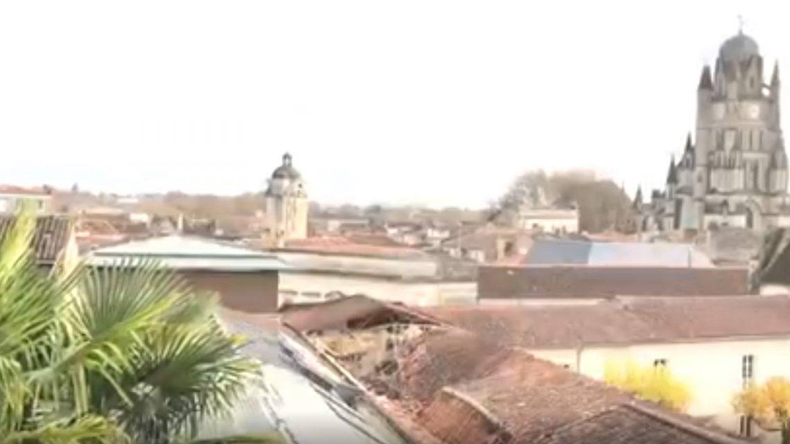 Audit suite à l'effondrement du toit de la médiathèque François Mitterrand