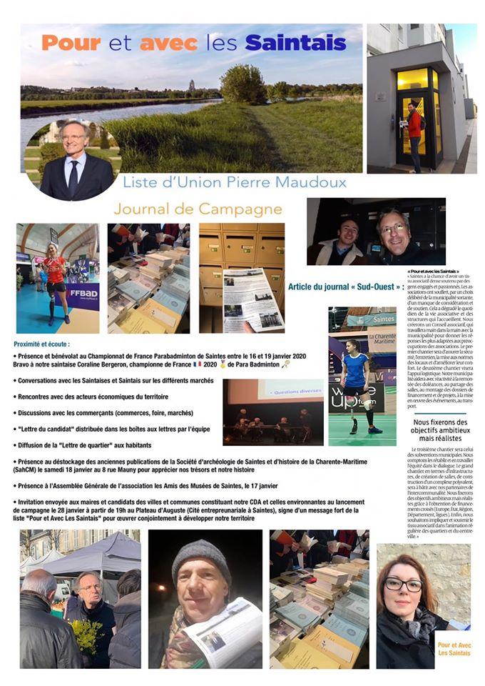 Journal de campagne fin janvier