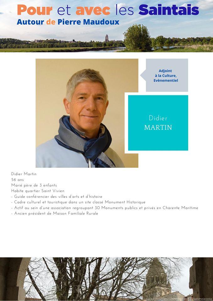 Didier Martin : présentation