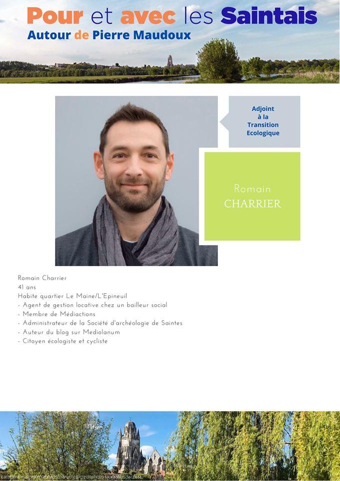 Romain Charrier : présentation