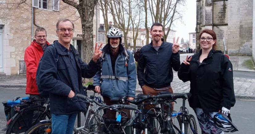 Consultation avec l'association « Saintes à vélo »