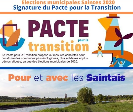 Signature du Pacte de la Transition